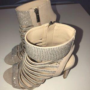 Vince Camuto Jeweled Heels!